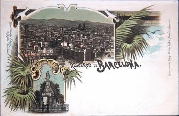 Barcelona  III lith Otmmar Zieher