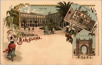 Barcelona VI Lith Otmar Zieher