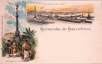 Barcelona  lith - Kunzli 690