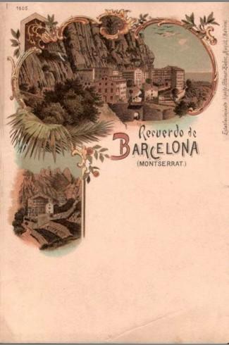 Barcelonna III  Lith - Ottmar Zieher 1505