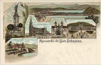 Recuerdo de San Sebastian